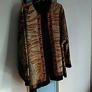 Dressy reversible jacket